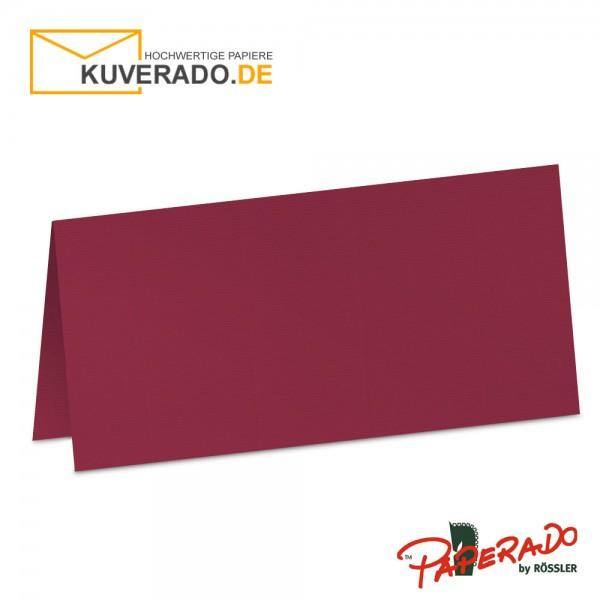 Paperado Tischkarten in rosso-rot