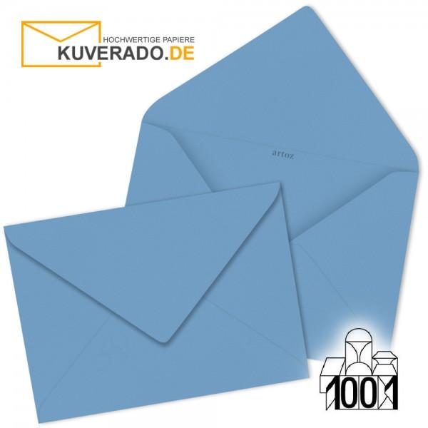 Artoz 1001 Briefumschläge marienblau 75x110 mm