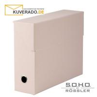 "S.O.H.O. Archivbox in der Farbe ""powder"""