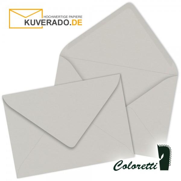 Graue DIN C7 Briefumschläge von Coloretti