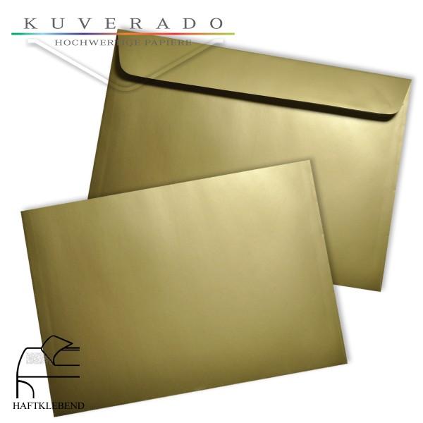 goldene Briefumschläge DIN C6
