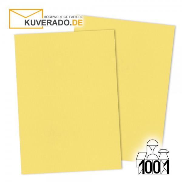 Artoz 1001 Briefkarton lichtgelb DIN A4 mit Wasserzeichen