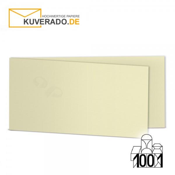 Artoz 1001 Faltkarten chamois beige DIN lang Querformat mit Wasserzeichen
