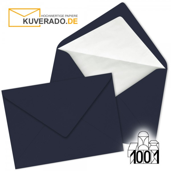 Artoz 1001 Briefumschläge navy-blue DIN C5