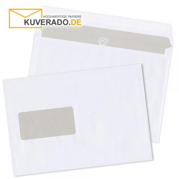 MAILmedia DIN C5 Briefumschläge haftklebend mit Adressfenster