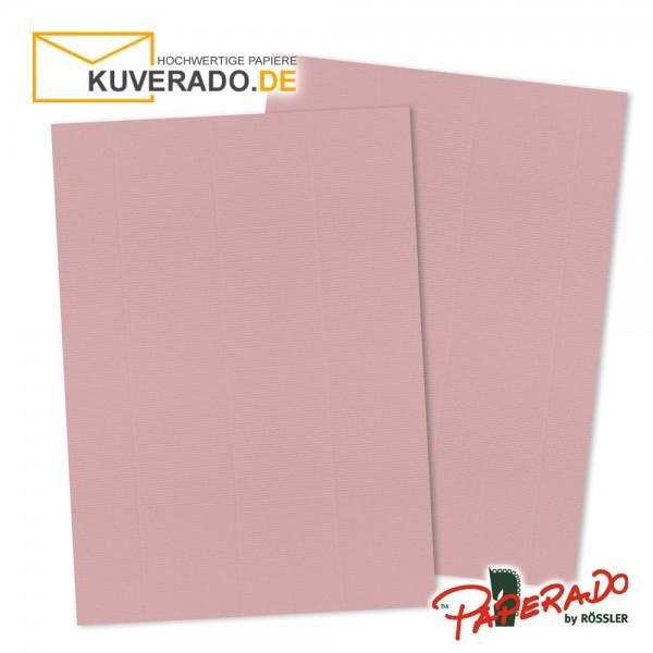 Paperado Briefkarton in rosen rosa DIN A4 220 g/qm