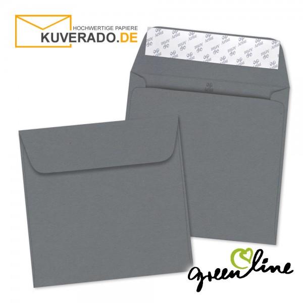 ARTOZ Greenline | Recycling Briefumschläge in granit-grau quadratisch