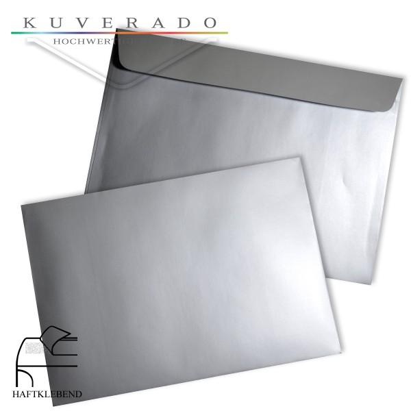 silberne Briefumschläge DIN C6