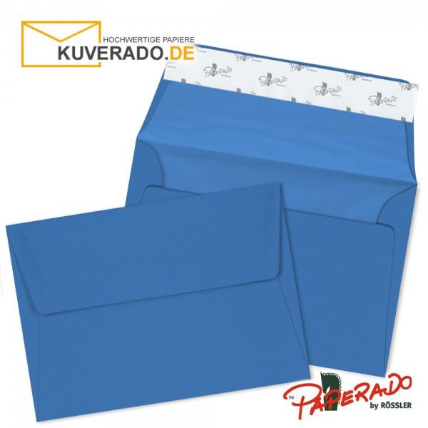 Paperado Briefumschläge stahlblau DIN B6