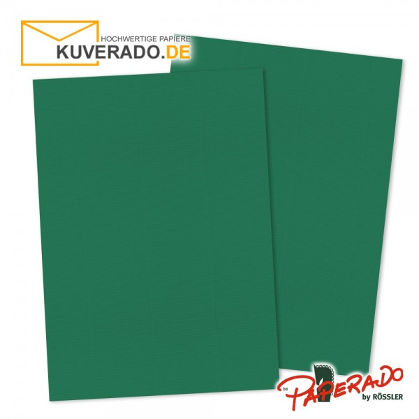 Paperado Briefpapier in tannengrün DIN A4 160 g/qm