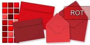 Rote Briefumschläge