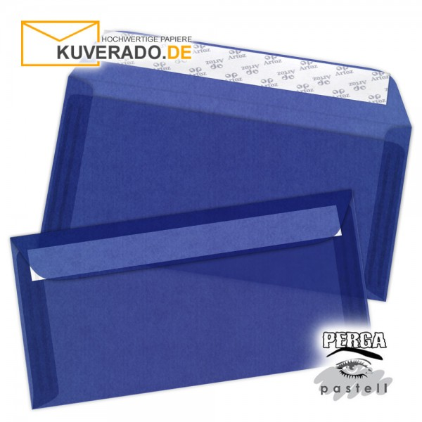 Artoz transparente Briefumschläge blau 114x224 mm
