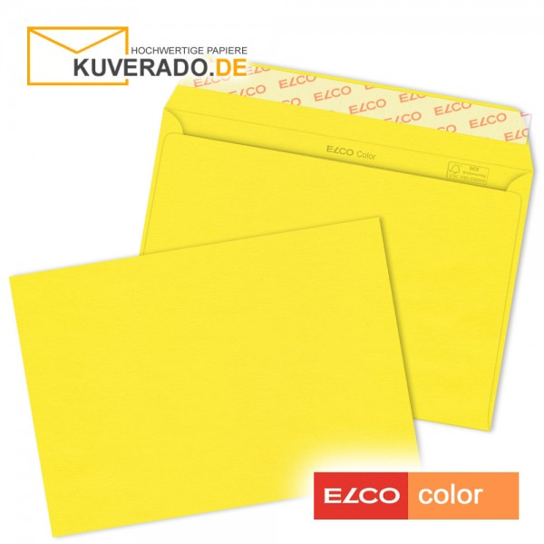 gelbe Briefumschläge DIN C6