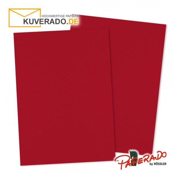 Paperado Briefpapier in rot DIN A4 160 g/qm