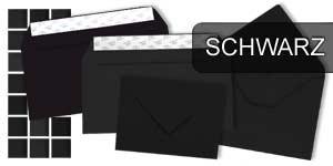 Schwarze Briefumschläge