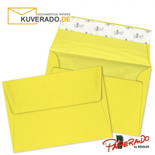 Paperado - Gelbe Briefumschläge im Format DIN B6