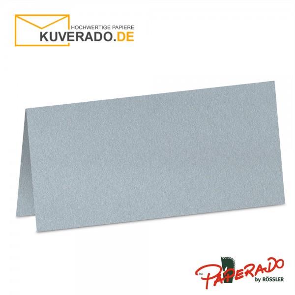 Paperado Tischkarten in silber metallic