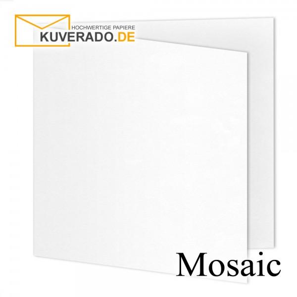 Artoz Mosaic weiße Doppelkarten quadratisch