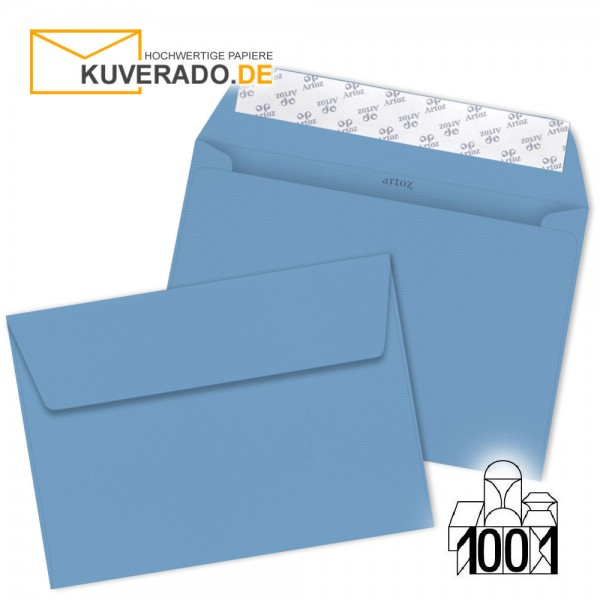 Artoz 1001 Briefumschläge marienblau DIN C4