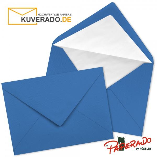 Paperado Briefumschläge in stahlblau DIN B6