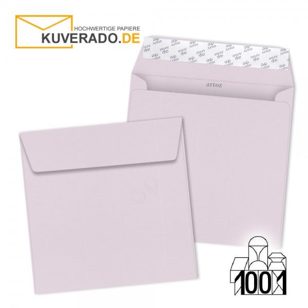 Artoz 1001 Briefumschläge quarzrosa quadratisch 160x160 mm