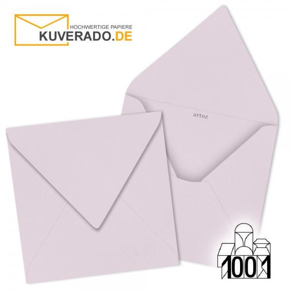 Artoz 1001 Briefumschläge quarzrosa quadratisch 135x135 mm