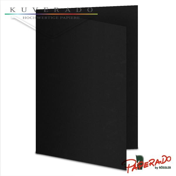 Paperado Karten in schwarz DIN A6