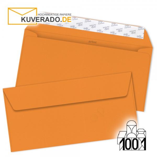 Artoz Briefumschläge orange DIN lang
