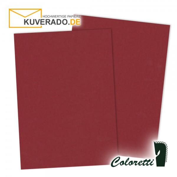Rotes Briefpapier in rosso 80 g/qm von Coloretti