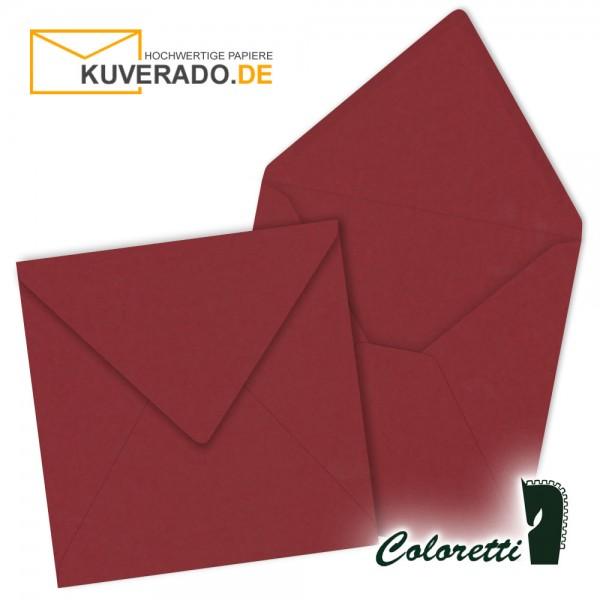 Rote Briefumschläge in rosso quadratisch von Coloretti