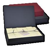 Kassetten mit echtem Büttenpapier