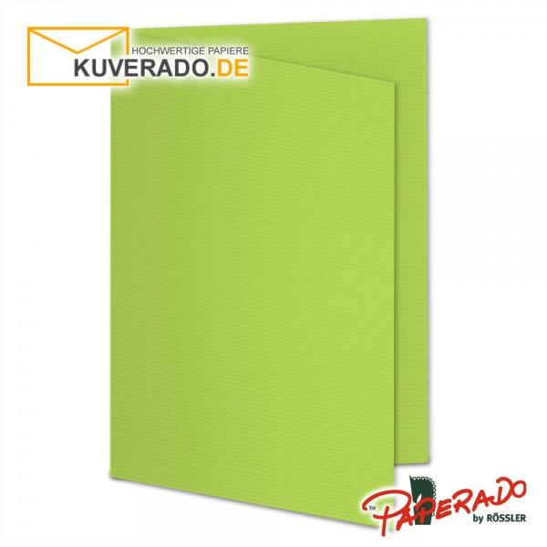 Paperado Karten in maigrün DIN A5