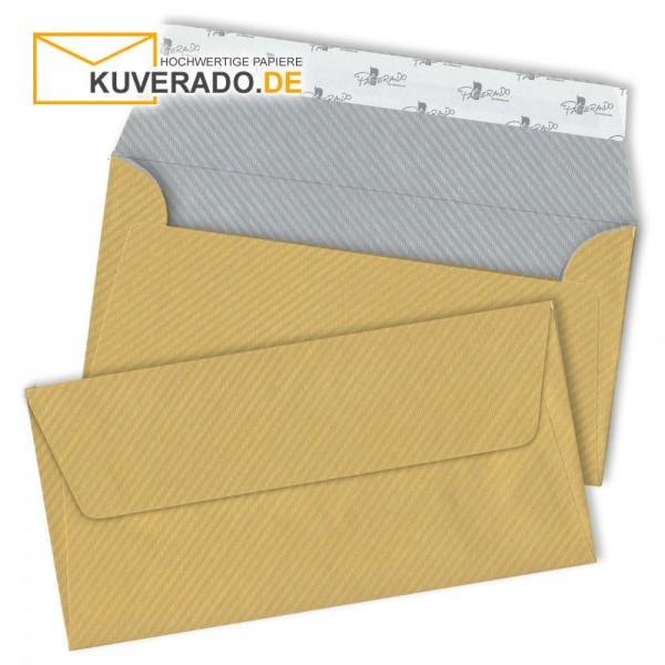 RÖSSLER Finer Paper | Briefumschläge in gold/silber DIN lang