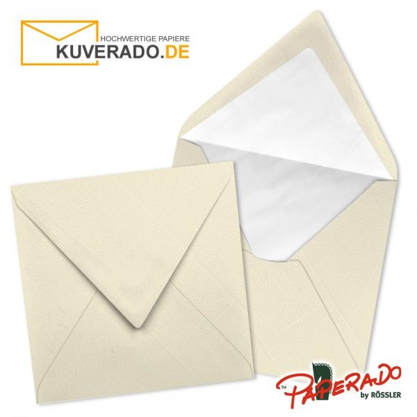 Paperado quadratische Briefumschläge in chamois 164x164 mm