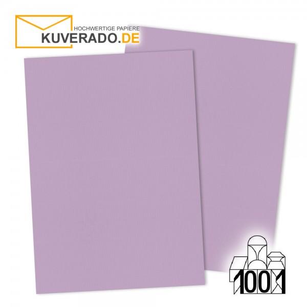 Artoz 1001 Briefkarton flieder DIN A4 mit Wasserzeichen