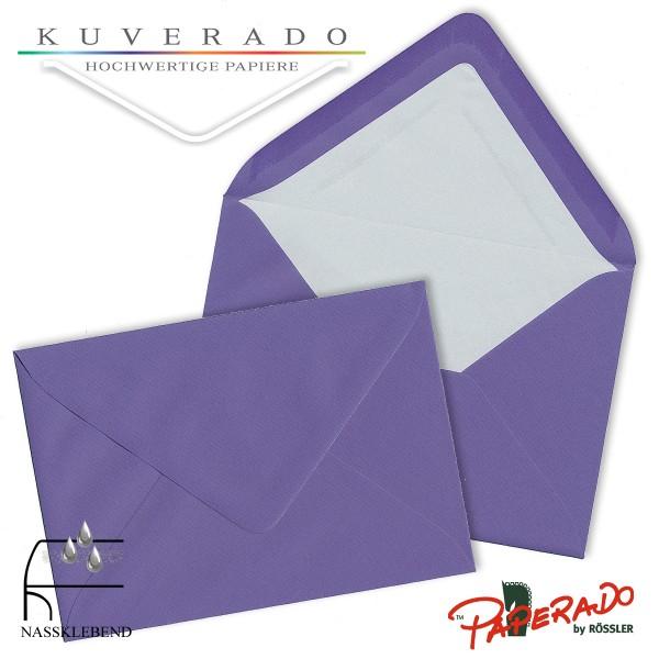 Paperado Briefumschläge in lila 157x225 mm
