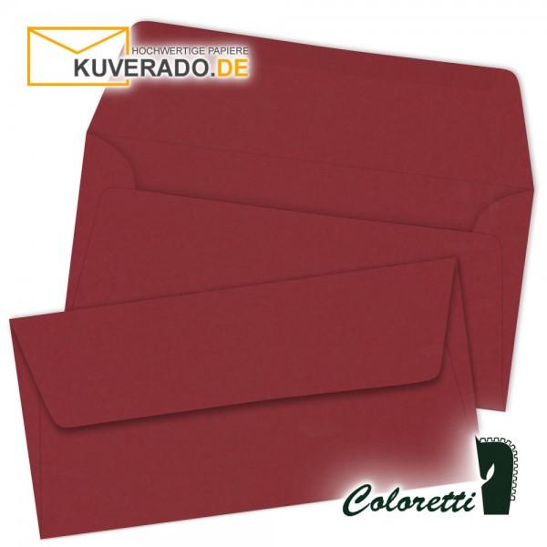 Rosso-rote DIN lang Briefumschläge von Coloretti