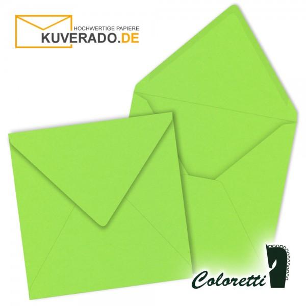 Grüne Briefumschläge in quadratisch von Coloretti