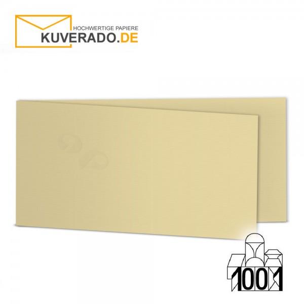 Artoz 1001 Faltkarten baileys beige DIN lang Querformat mit Wasserzeichen