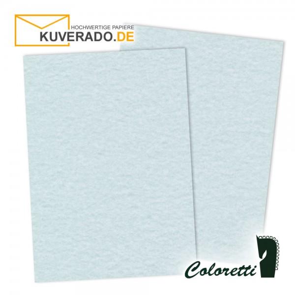 Blau marmoriertes Briefpapier in aqua 165 g/qm von Coloretti