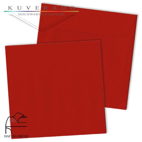 rote Briefumschläge quadratisch