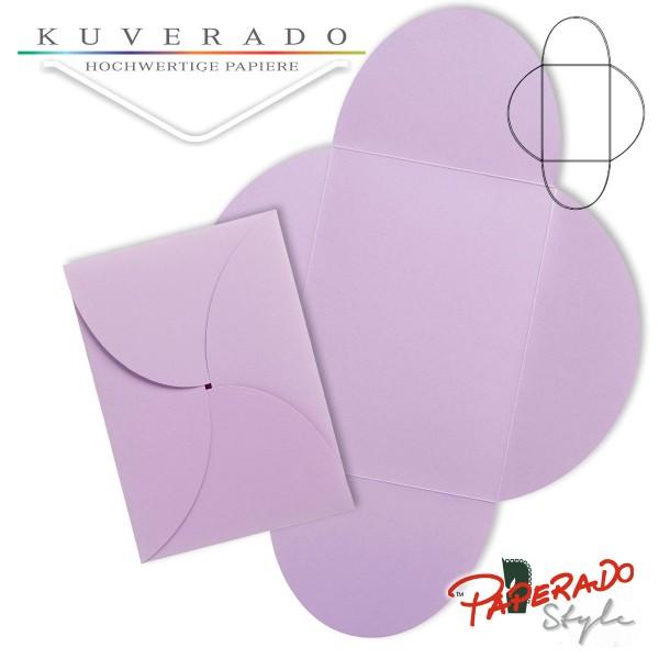 PAPERADO Style - Flügelkarte in orchidee