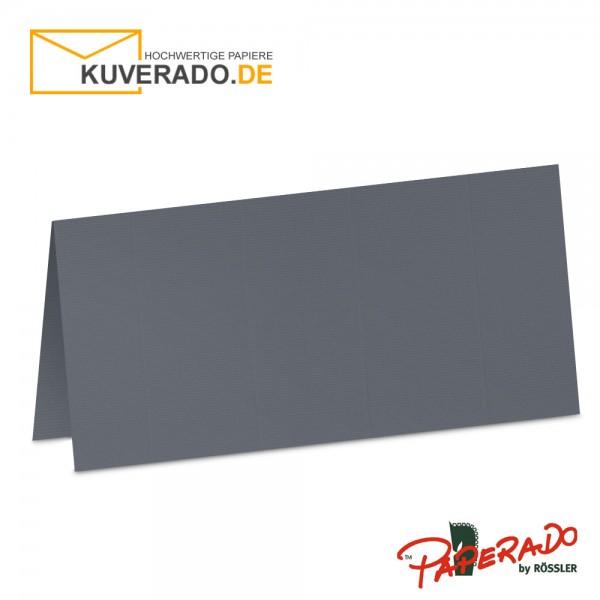 Paperado Tischkarten in schiefer-grau