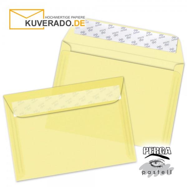 Artoz transparente Briefumschläge honigbeige DIN B6