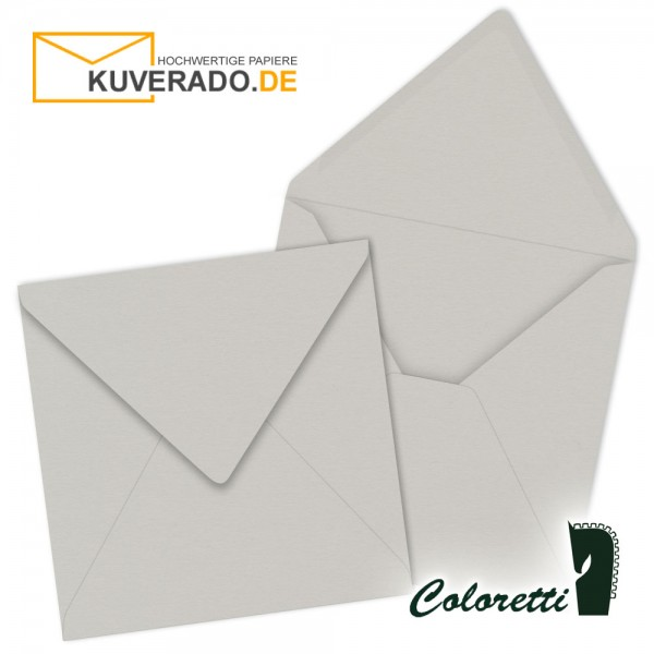 Graue Briefumschläge in quadratisch von Coloretti