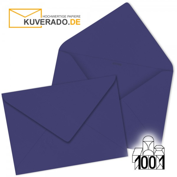 Artoz1001  Briefumschläge indigo blau 75x110 mm