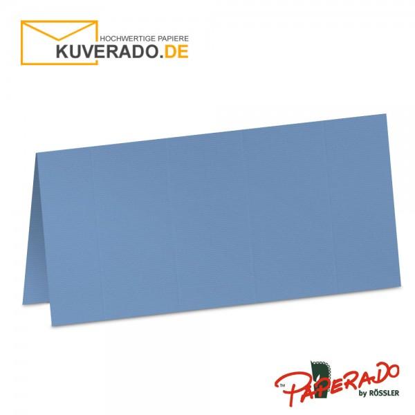 Paperado Tischkarten in blau