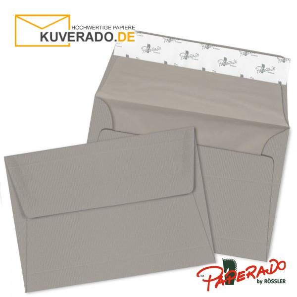 Paperado Briefumschläge taupe grau DIN C6