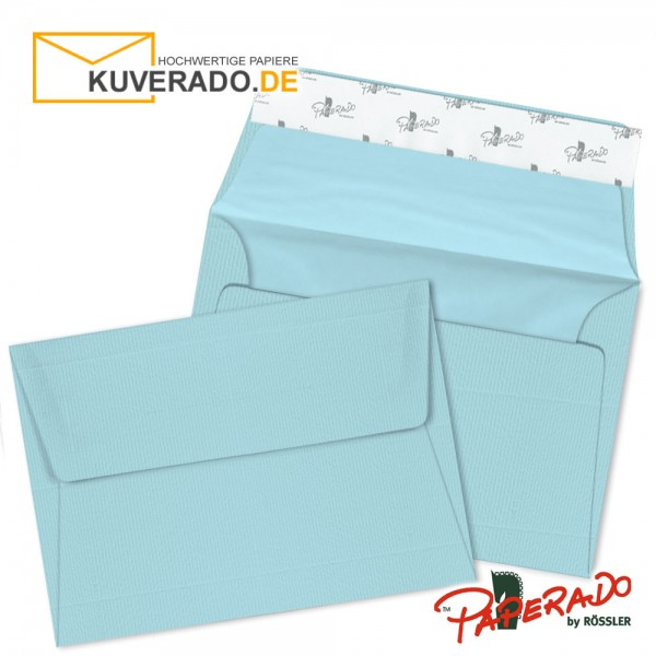 Paperado Briefumschläge aqua DIN C6