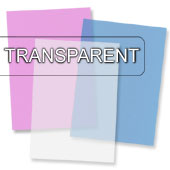 transparentes Briefpapier